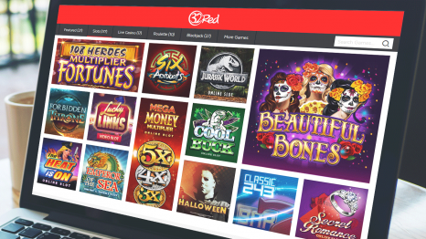 32Red Casino software and game variety