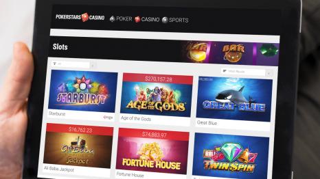 PokerStars Casino software and game variety