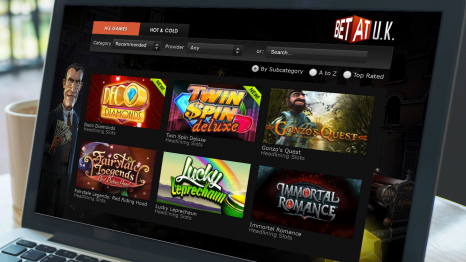 Betat casino software and game variety