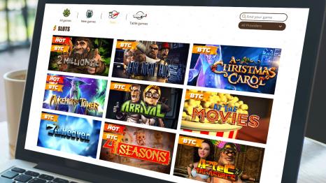 Bob casino software and game variety