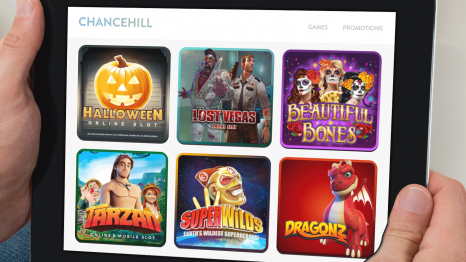 Chance Hill Casino software and game variety
