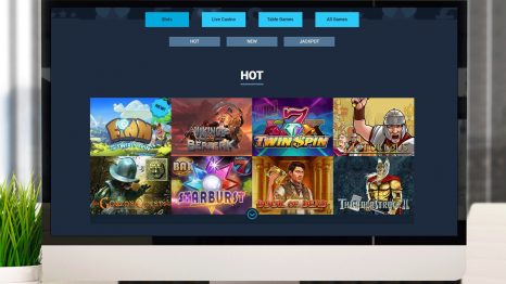 MoboCasino  software and game variety