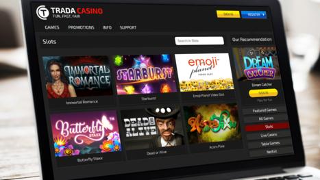 Trada Casino software and game variety