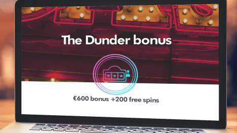 Dunder Casino bonuses and promotions