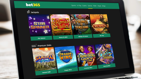 Bet365 Casino software and game variety
