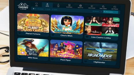 Casinoland software and game variety