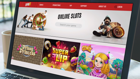 Spinit Casino software and game variety