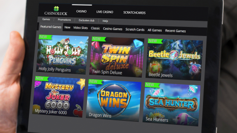 CasinoLuck software and game variety