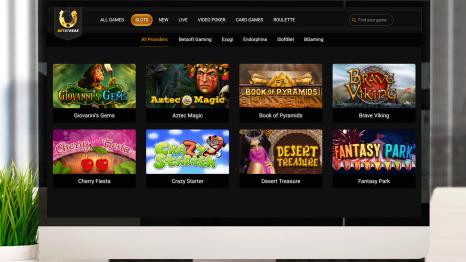 Betstreak Casino software and game variety