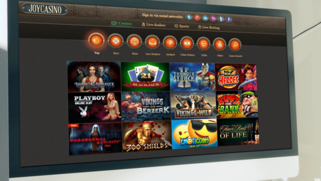 Joy Casino software and game variety