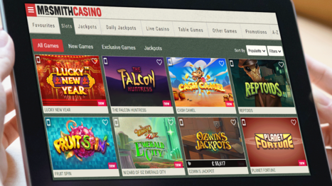 Mr Smith Casino software and game variety
