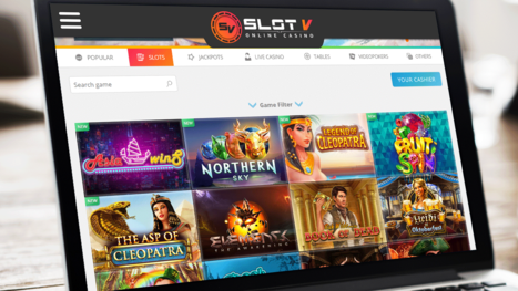 SlotV Casino software and game variety