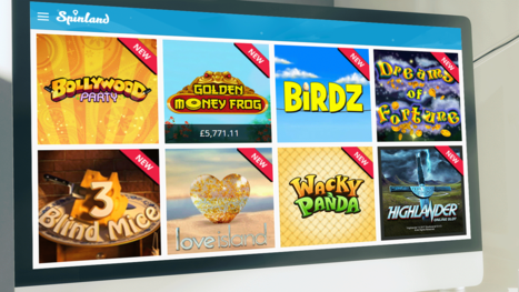 Spinland Casino software and game variety