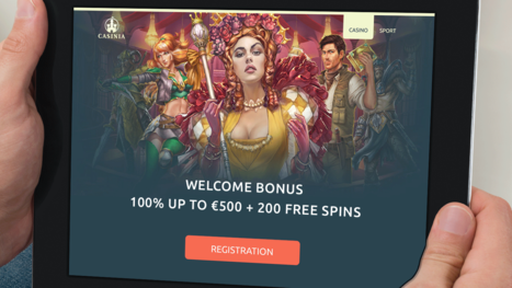 Casinia Casino bonuses and promotions