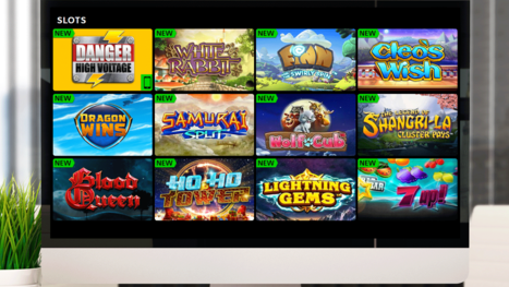 Sparkle Slots Casino software and game variety