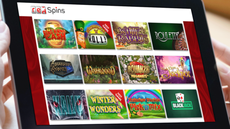 Red Spins Casino software and game variety