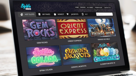 Big Win Vegas Casino software and game variety