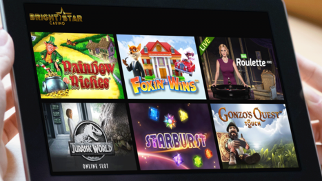 Bright Star Casino software and game variety