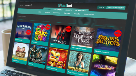 FastBet Casino software and game variety