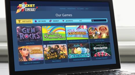 Rocket Slots software and game variety