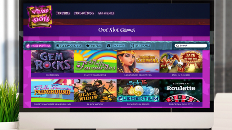 Wizard Slots Casino software and game variety