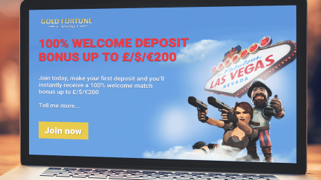 Gold Fortune Casino bonuses and promotions