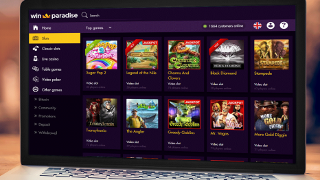 Win Paradise Casino software and game variety