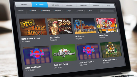 Big Bet World Casino software and game variety
