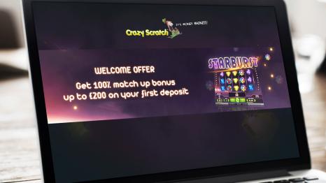 Crazy Scratch Casino bonuses and promotions