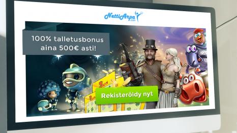 NettiArpa Casino bonuses and promotions