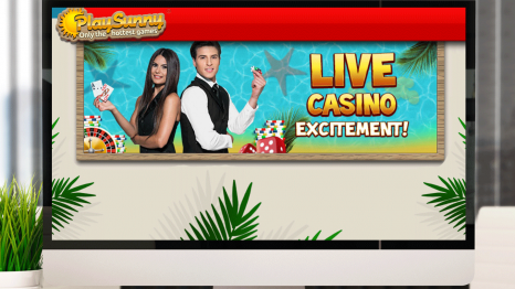 PlaySunny Casino mobile and live games