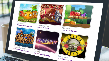 Slots And Games Casino software and game variety