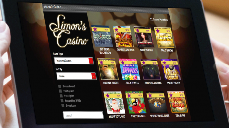 Simon's Casino software and game variety