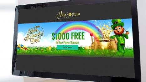 Villa Fortuna Casino bonuses and promotions
