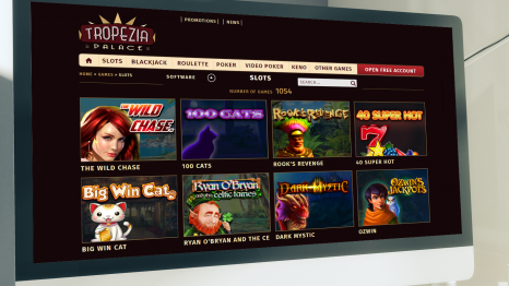 Tropezia Palace Casino software and game variety
