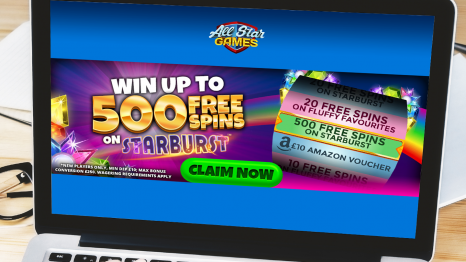 All Star Games Casino bonuses and promotions