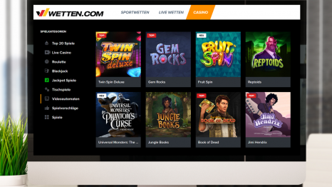 Wetten Casino software and game variety