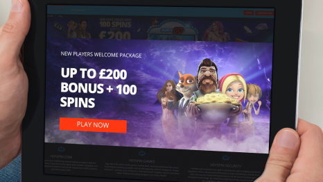 Hey Spin Casino bonuses and promotions