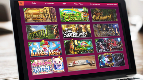 Hallmark Casino software and game variety