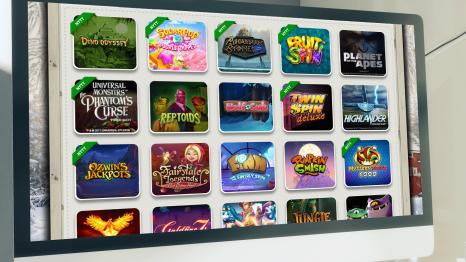 SveaCasino software and game variety
