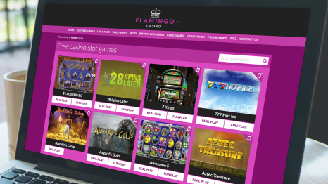Royal Flamingo Casino software and game variety