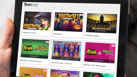 Titanbet.it Casino software and game variety