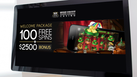 Vegas Crest Casino bonuses and promotions