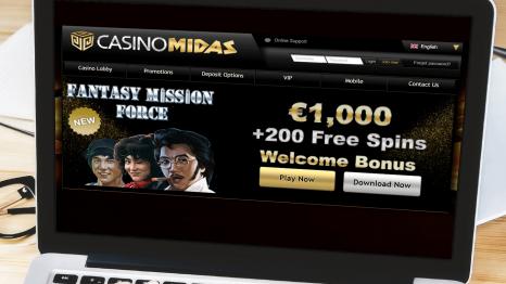 Casino Midas bonuses and promotions