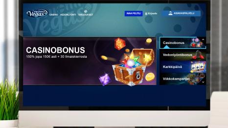Suomi Vegas Casino bonuses and promotions