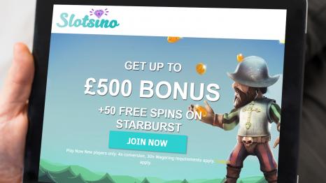 Slotsino Casino bonuses and promotions