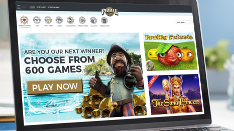 Pirate Spin Casino software and games variety