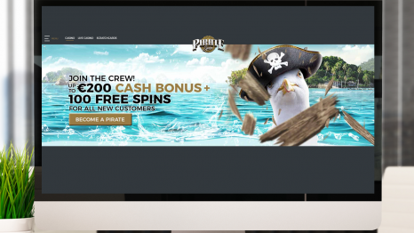 Pirate Spin Casino bonuses and promotions