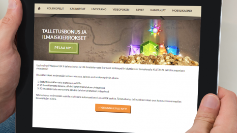 Kultakaivoksen Casino bonus and promotions
