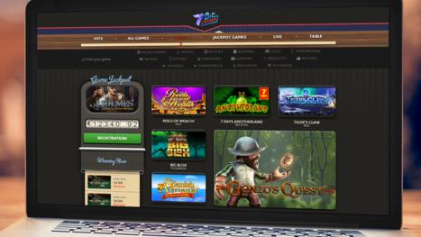 7BitCasino software and game variety